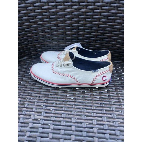 NEW Chicago Cubs Sneakers KEDS Womens Size 7.5